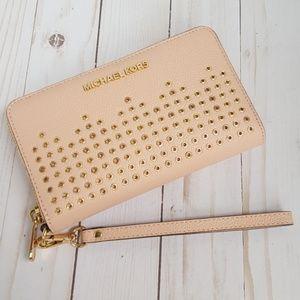 Michael Kors Phone Wallet Wristlet Hayes